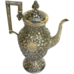 Early Sterling Repousse Coffee Pot c.1830-60