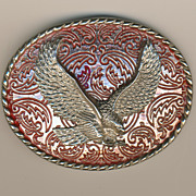 SALE Eagle Belt Buckle