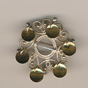 1930s Norwegian Solje brooch - 925 Sterling