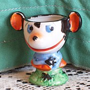 SOLD RARE 1930s Minnie Mouse Figural Egg Cup