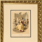 "Antique ""Book of Royalty"" Prints c. 1838"