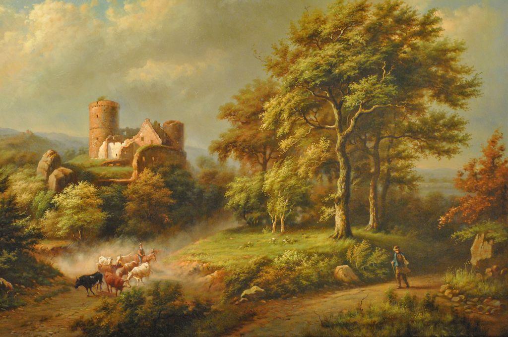 english countryside landscape old - photo #17