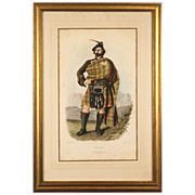 Scottish Clans Antique Engravings