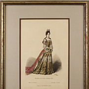 Antique Fashion Plates
