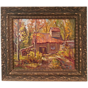 Sugar Shack in Autumn