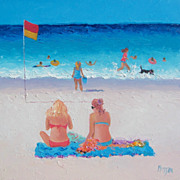 Beach Paintings by Jan Matson - 'Last days of summer'