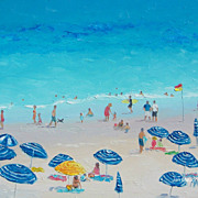 Beach Painting 'Perfect Beach Day' by Jan Matson
