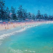 'Manly Beach', Beach oil painting by Jan Matson