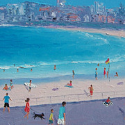 Bondi Beach - Beach Painting by Jan Matson