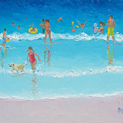 Beach Painting 'Beach Bliss' by Jan Matson
