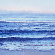 Ocean Painting 'Twilight Blue' by Jan Matson