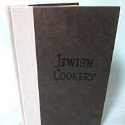 Jewish Cookery: In Accordance with Jewish Dietary Laws