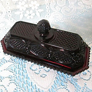 Covered Butter Dish by AVON -  1876 Cape Cod Collection
