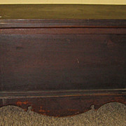 Antique Southern Walnut Blanket chest