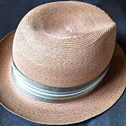 Dobbs 5th Ave. New York Vintage 1940 - 1950's  Men's Fedora