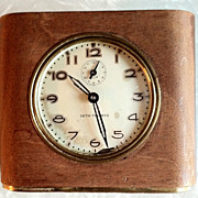 Vintage  working Seth Thomas Wooden Cased Alarm Clock