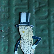 SALE Vintage set of Mr. Peanut Collectables