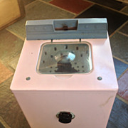 Retro Mid-Century GE Child's Toy Washer & Dryer