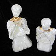 SALE Kay Finch California Pottery Choir Boy Figurines