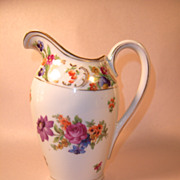 "Schumann ""Old Dresden"" Milk Pitcher"