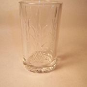 Heisey PLANTATION-Pressed Flat Juice Glass