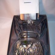 Waterford Crystal Fred Curtis Signed,Numbered Biscuit Jar