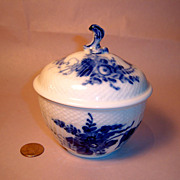 Royal Copenhagen Blue Flower Large Covered Sugar