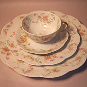 "SALE Haviland ""Princess"" Schleiger 57B  4-Piece Place Setting"