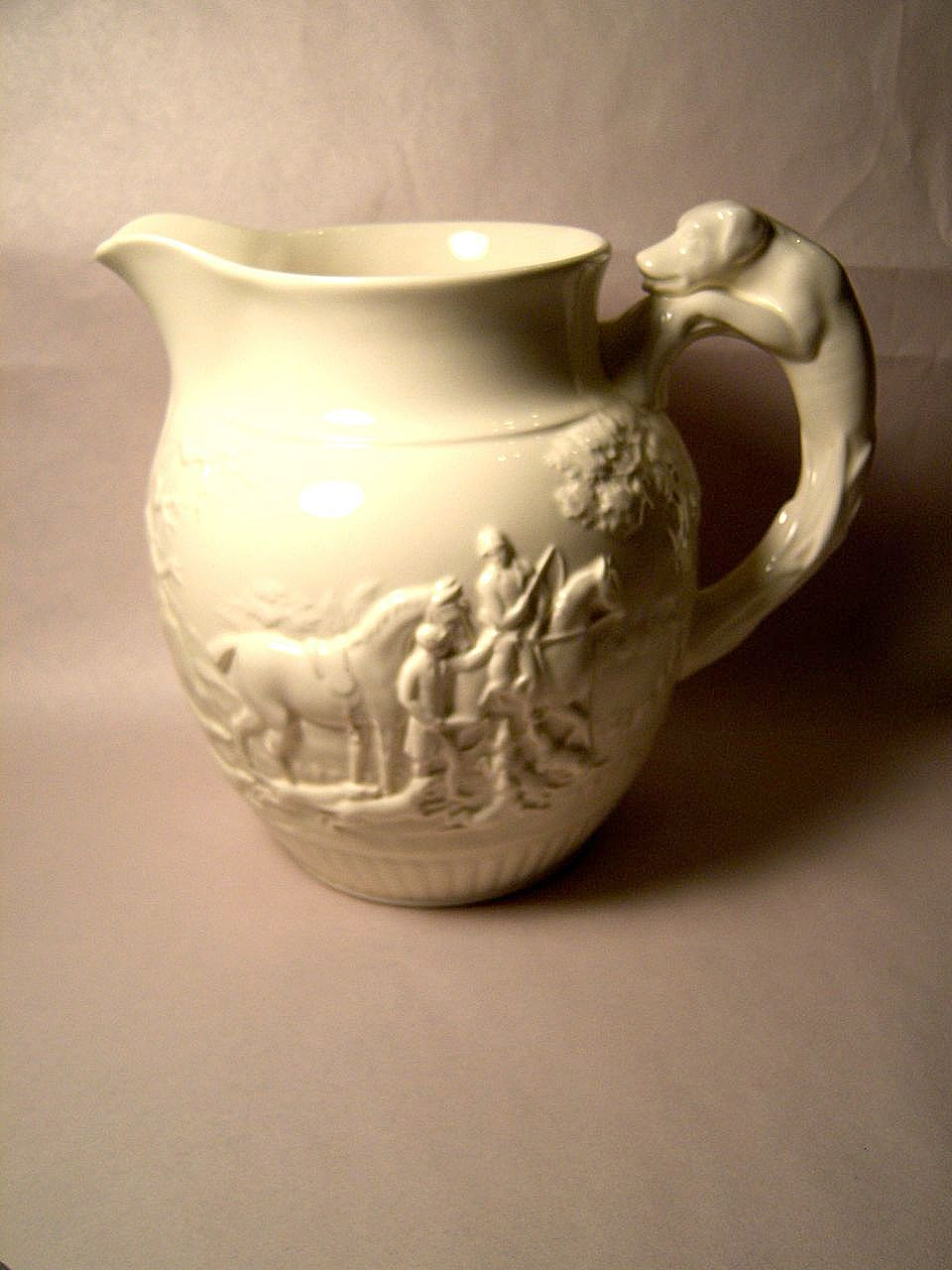 Wedgwood Dye Ken John Peel 64 oz Pitcher