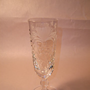 Royal Brierley HONEYSUCKLE Champagne Flute
