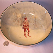 "Royal Doulton Shakespeare Series Orlando 8"" Bowl"