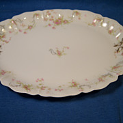 "Haviland ""Princess"" Schleiger 57B Small Oval Platter"