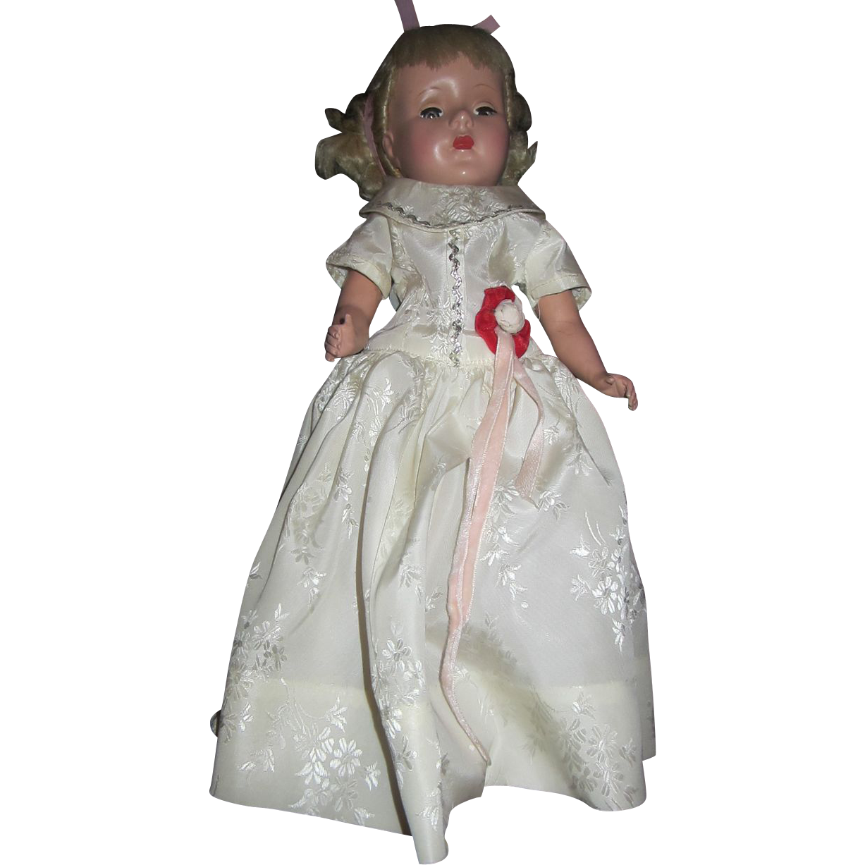 Gorgeous Sweet Sue 14&quot; doll in original dress gown blonde pouty