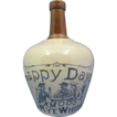"Stoneware Whiskey Jug ""Happy Days"""