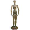 Antique Wooden Artist's Model Form Circa 1900