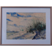Thomas Hermansader Original Watercolor &quot; Sand Dune &quot; w/COA