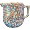 AMAZING Multi-Color Stoneware Pitcher