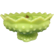 Fenton Green Scalloped Bowl (Candle Bowl)