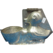 1930's Vintage German Chocolate Mold Duck w/Basket Easter