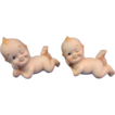 2 Porcelain Kewpie Doll/Figurines