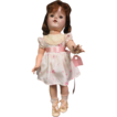 "Beautiful 16"" Hard Plastic Doll"