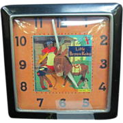 Vintage &quot;Little Brown Koko&quot; Wind Up Alarm Clock