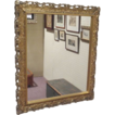 "Antique Gold Large Mirror 28"" x 36"""