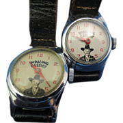 """Hopalong Cassidy"" Wristwatch"