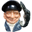 Royal  Doulton Toby Character Jug [Large] LOBSTER MAN]