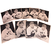 1941 Boston Red Sox-9 Different Photos Picture Pack Jimmie Foxx