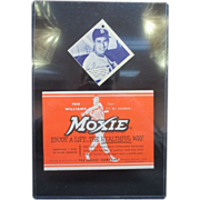Ted Williams, Jimmy Fund Hang Tag & Original Moxie Label