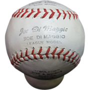 1950's Joe DiMaggio League Model Baseball by Trio Hollander