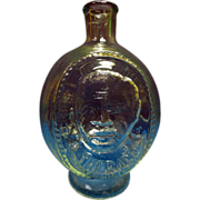 "RARE-Vintage ""Tiara"" 3-Sided Bottle Feat. Babe Ruth, Jim THorpe, John L. Sullivan"