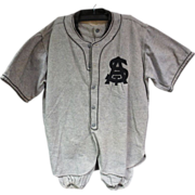 1920's St. Annes or St. Anthony's Baseball Uniform w/Sun Collar